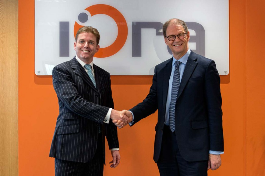 Case study on James Arbuthnot MP opens iOra's new offices